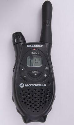 PMR = Portable Mobile Radio (UHF)